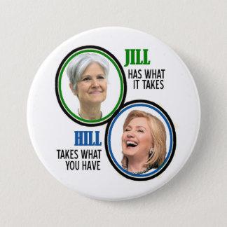 Jill Stein 2016 Pinback Button
