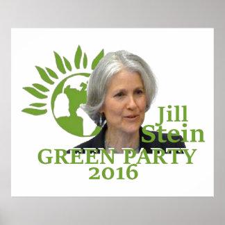 Jill STEIN 2016 Print