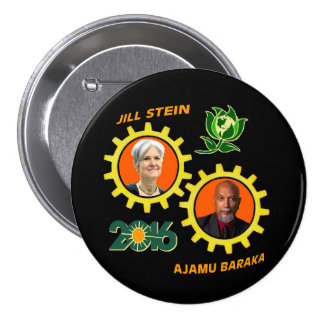 Jill Stein / Ajamu Baraka Button