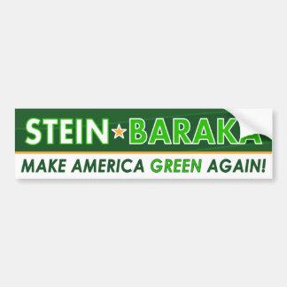 Jill Stein / Baraka - Green Party Bumper Sticker