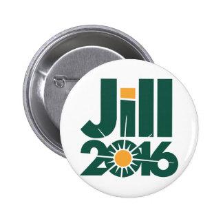 Jill Stein Campaign Logo Pinback Button