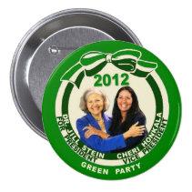 Jill Stein / Cheri Honkala 2012 Button