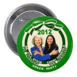 Jill Stein/Cheri Honkala 2012 Pin Redondo De 3 Pulgadas
