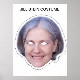 Jill Stein Costume Poster