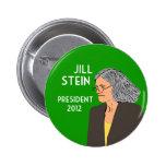 Jill Stein for President 2012 campaign button