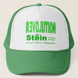 Jill Stein for President 2012 Green Party Trucker Hat