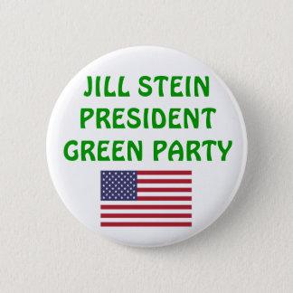 Jill Stein for President 2012 Green Party USA Pinback Button