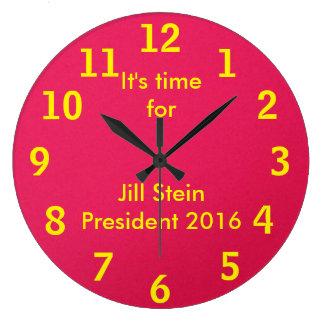 Jill Stein For President 2016 Large Clock
