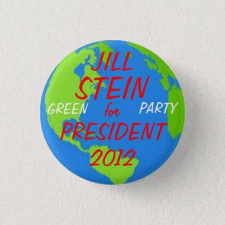 Jill Stein for President button