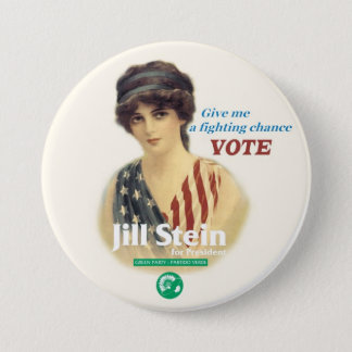 Jill Stein for President Pinback Button