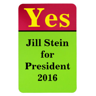 Jill Stein para el presidente 2016 Imanes Flexibles
