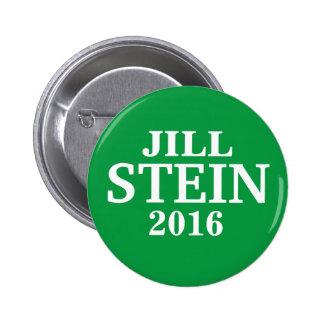 Jill STEIN PARA el PRESIDENTE 2016 Pin Redondo 5 Cm