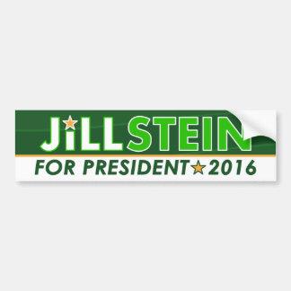 Jill Stein - pegatina para el parachoques política Pegatina Para Auto