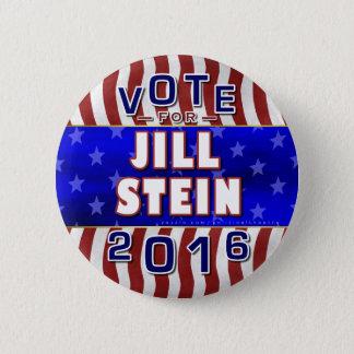 Jill Stein President 2016 Election Green Party Pinback Button