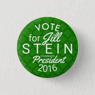 Jill Stein President 2016 Election Green Political Pinback Button