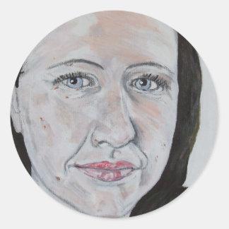 Jillie Pegatina Redonda