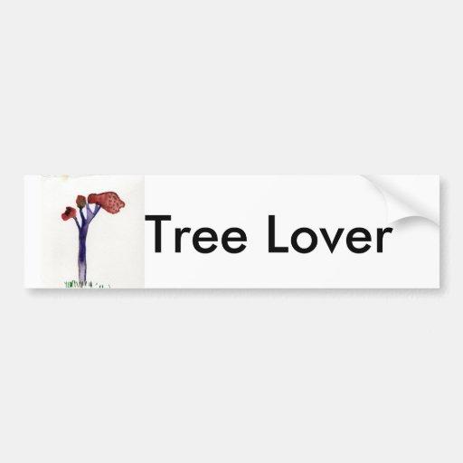 JILL'S TREE, Tree Lover Car Bumper Sticker