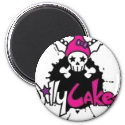 jillycakes_logo iman para frigorífico