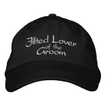 Jilted Lover of the Groom Embroidered Wedding Cap