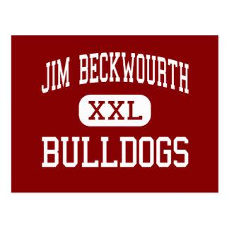 Jim Beckwourth - dogos - alto - Portola Postales