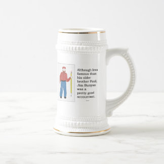Jim Bunyan -- legendary accountant   Mug