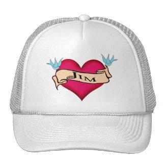Jim - camisetas y regalos de encargo del tatuaje d gorro