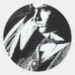 jim classic round sticker