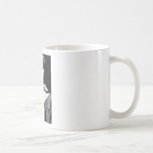 jim classic white coffee mug
