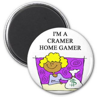 jim cramer home cramer 2 inch round magnet