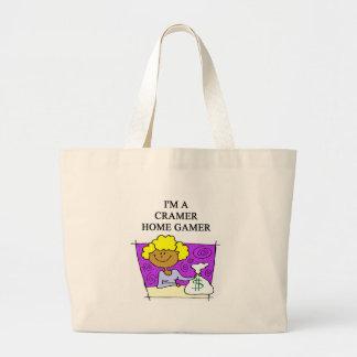 jim cramer home cramer large tote bag