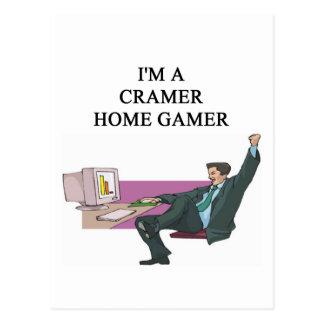 jim cramer home gamer post cards