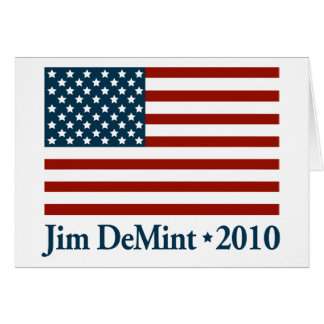 Jim DeMint 2010 Card