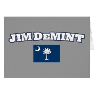 Jim DeMint for South Carolina Card