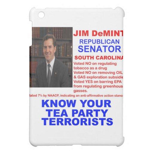 Jim DeMint - terrorista de la fiesta del té - Caro