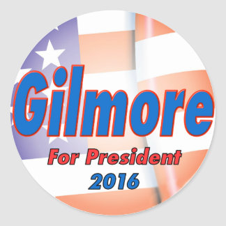 Jim Gilmore for President in 2016 Classic Round Sticker