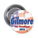 Jim Gilmore for President in 2016 Pinback Button