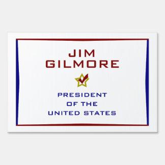 Jim Gilmore for President USA Yard Sign