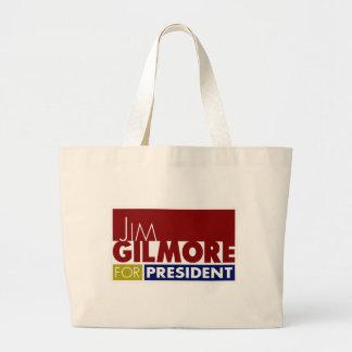 Jim Gilmore for President V1 Large Tote Bag