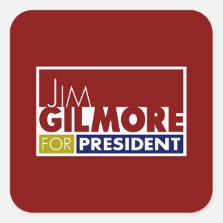 Jim Gilmore for President V1 Square Sticker