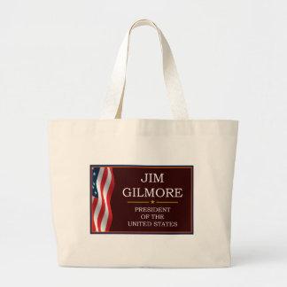 Jim Gilmore for President V3 Large Tote Bag