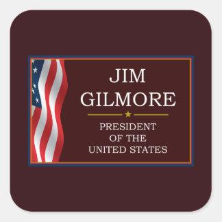 Jim Gilmore for President V3 Square Sticker