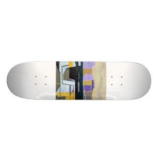 "Jim Harris Untitled  3 Skateboard 8 1/8"""