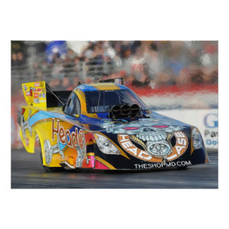Jim Head Top Fuel Funny Car Print