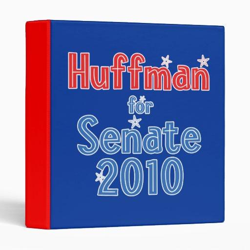 Jim Huffman for Senate 2010 Star Design 3 Ring Binders
