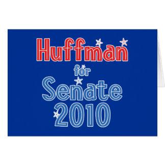 Jim Huffman for Senate 2010 Star Design Greeting Card