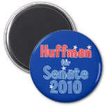 Jim Huffman for Senate 2010 Star Design Magnet