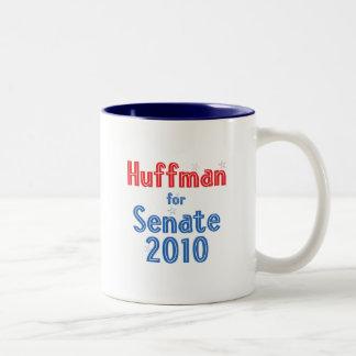 Jim Huffman for Senate 2010 Star Design Coffee Mugs