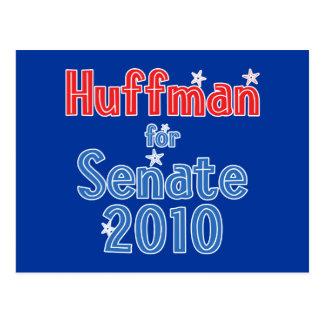 Jim Huffman for Senate 2010 Star Design Postcard