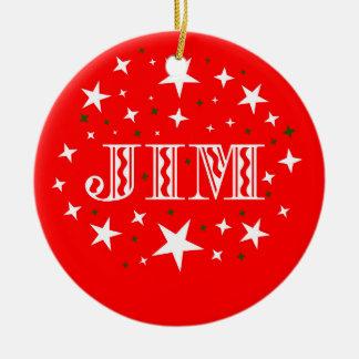 Jim Name  Ornament