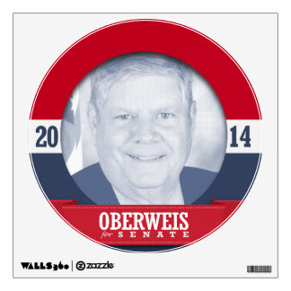 JIM OBERWEIS CAMPAIGN ROOM DECALS